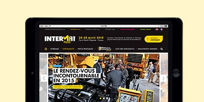 Salon Intermat Paris